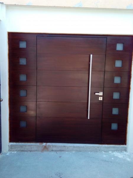 Puertas principales estilo contemporaneo herreria y forja for Fotos de puertas principales