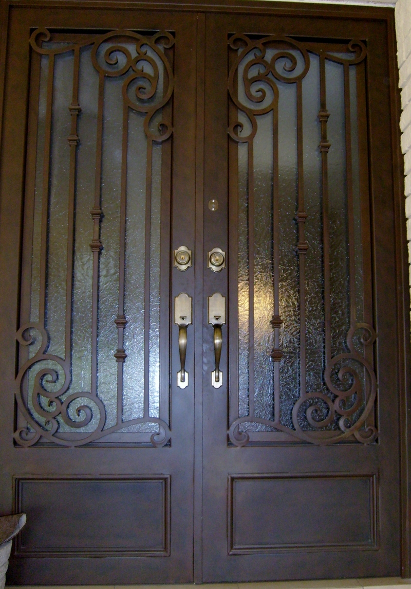 fotos de puertas principales herreria o imagenes picture ForPuertas De Herreria Forjada