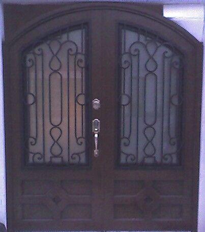 Puerta principal12 herreria y forja for Puertas principales de herreria elegantes